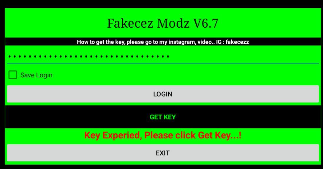 Fakecez Modz Key