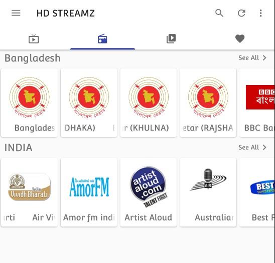 HD Streamz Live