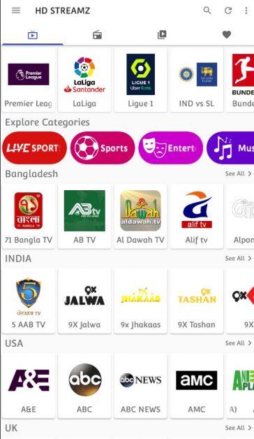 HD Streamz TV