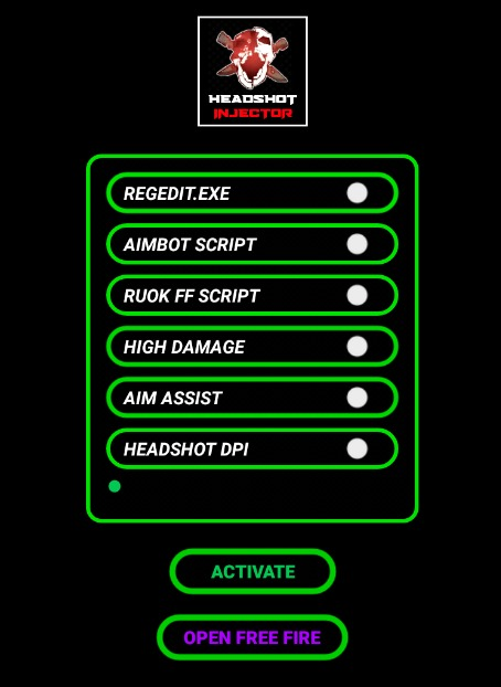 Free Fire Headshot Injector